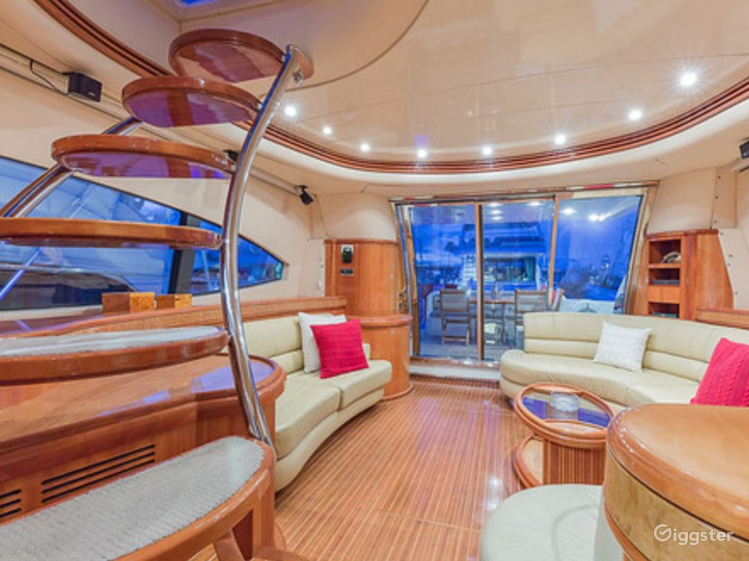 Massive and Attractive 68FT AZIMUT Party Yacht Space Events Photo 1