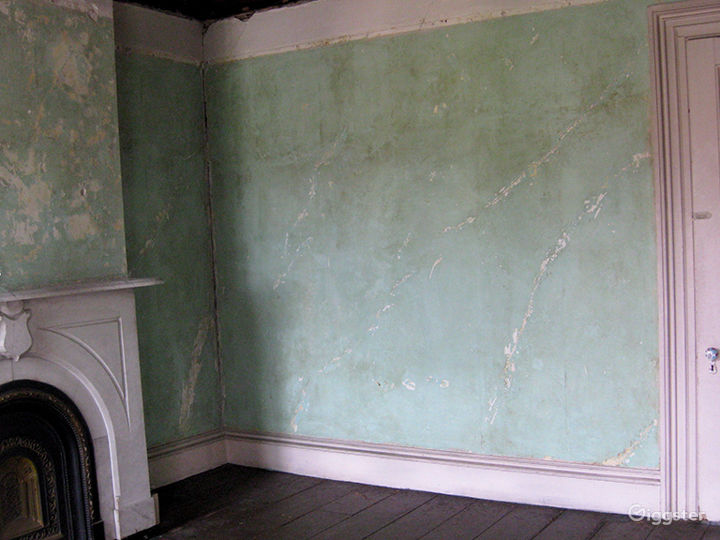 Dilapidated, distressed mansion: Location 3166  Photo 5