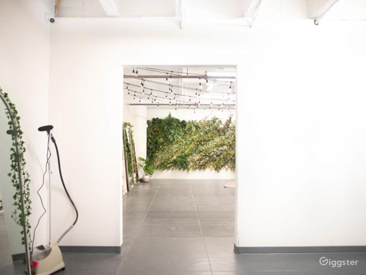 DTLA Boho Ivy Wall Studio with Mirrors 700sf Photo 5