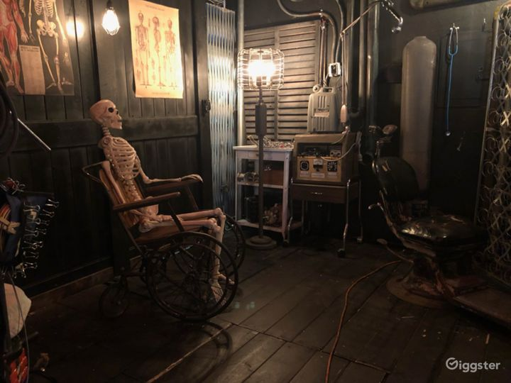 Clock Tower Dungeon Haunted House Boiler Room Cyc Photo 3
