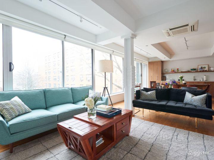Modern, Williamsburg Loft, In Film-Set Quality Photo 3
