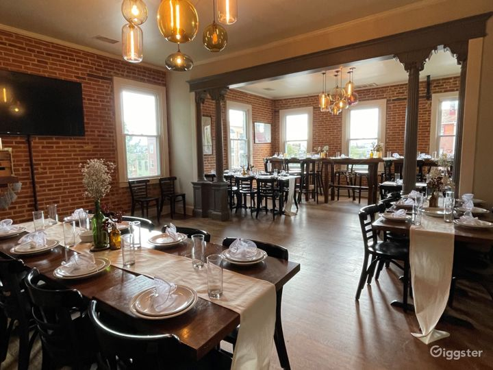 Full 2nd Floor Dining Space in Baltimore Photo 2