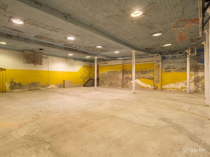 Raw Historic Underground Gymnasium Photo 3