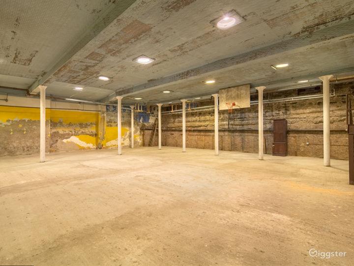 Raw Historic Underground Gymnasium Photo 2