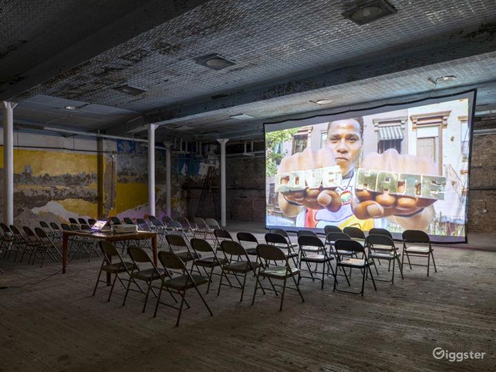 Raw Historic Underground Gymnasium Photo 5
