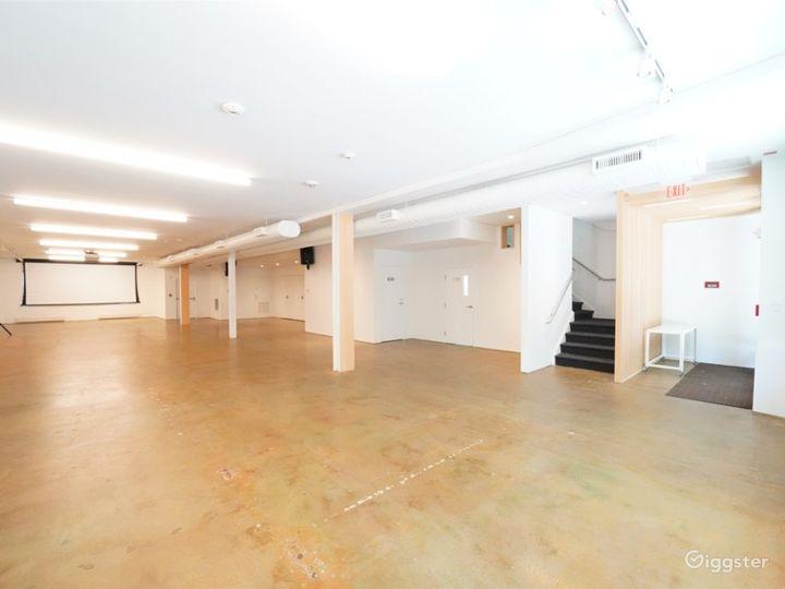 Modernized & Spacious Gallery, DC Downtown