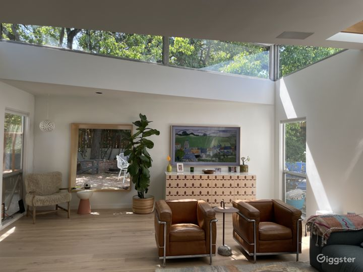 Architectural 1960s Modern with Large Flat Yard Photo 4