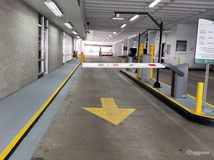 garage exit to street