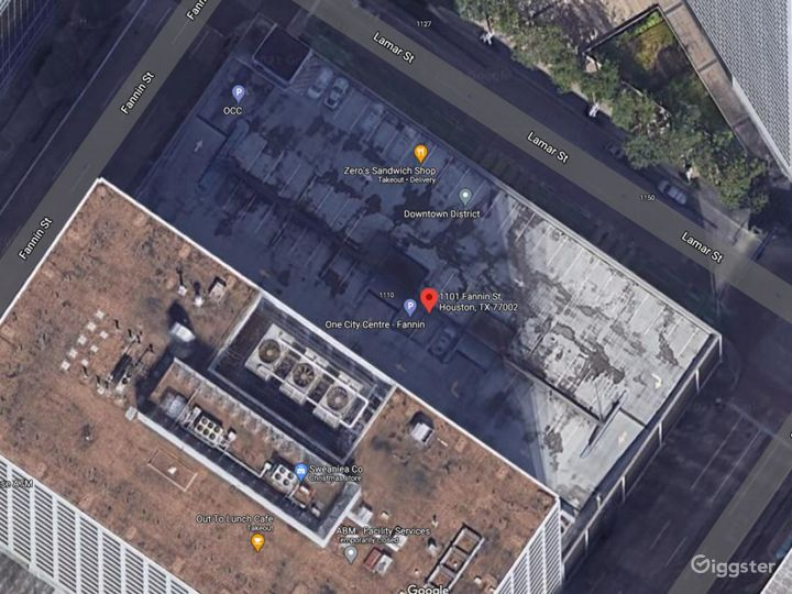 Google Earth view of rooftop