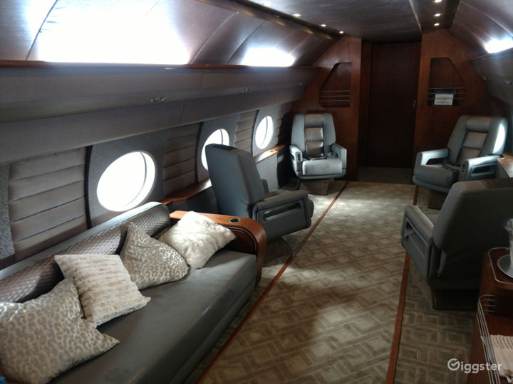 G4 Large Luxury Jet Airplane available for filming Photo 3