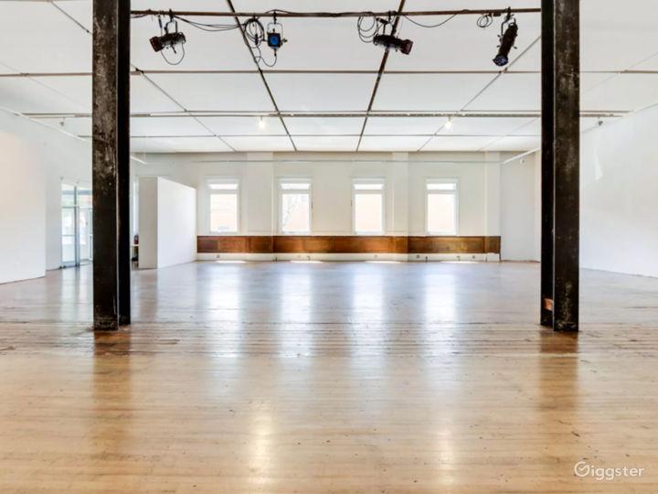 Flexible Art Space in Historic Building