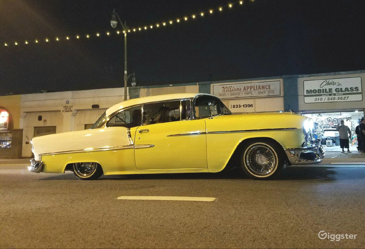 Bel Air Car >> Rent 1955 Chevy Bel Air Car Transportation For Film Photoshoot In