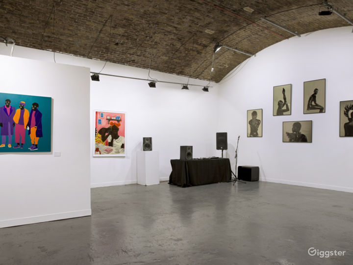 Gallery space for hire in Shoreditch