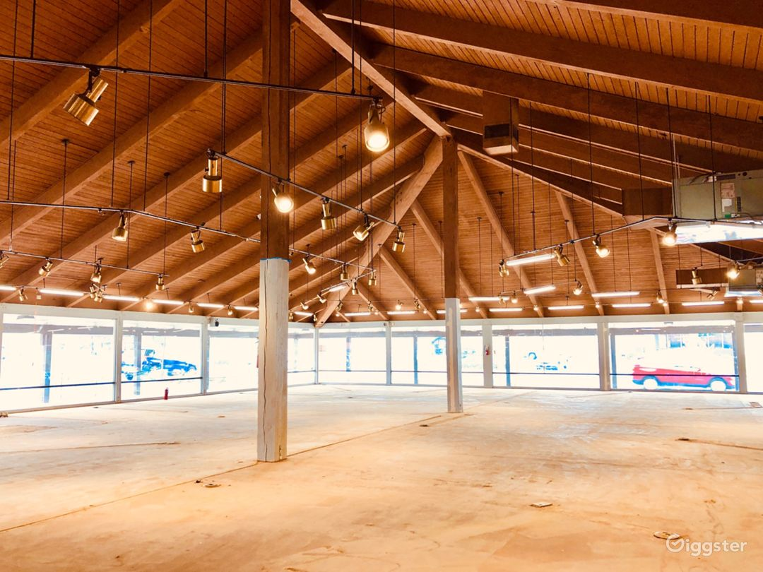 11,000+ Sq Ft Chino Business District Dazzler.  Charming 1966 built Mid-Century Design.  Stunning Chalet Vaulted Wood Ceilings. Oversized Street Front and Plaza Facing Windows offer an Abundance of Natural Light.  City Permitted and Approved 1300 sq. ft. M