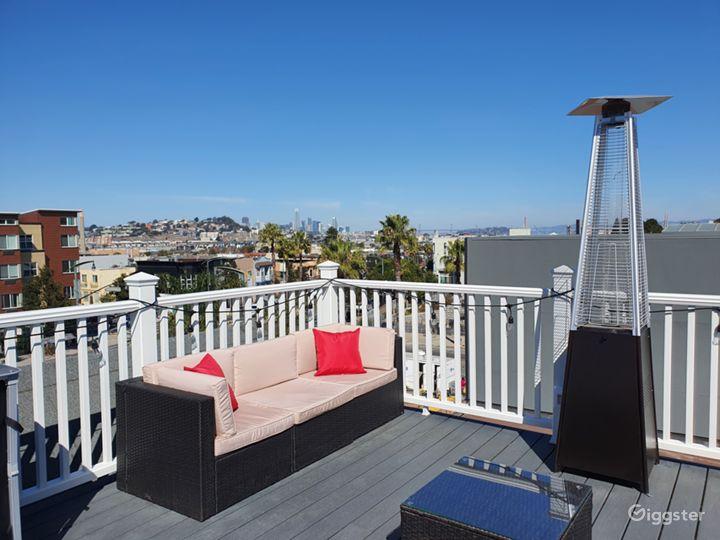 3rd Floor Rooftop Skyline View