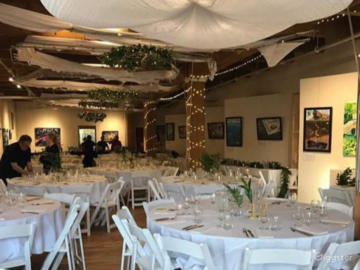 Ambiente Event Space minutes from Downtown
