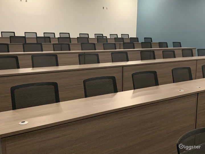 Mane Conference Stadium Seating Lecture Hall Photo 3