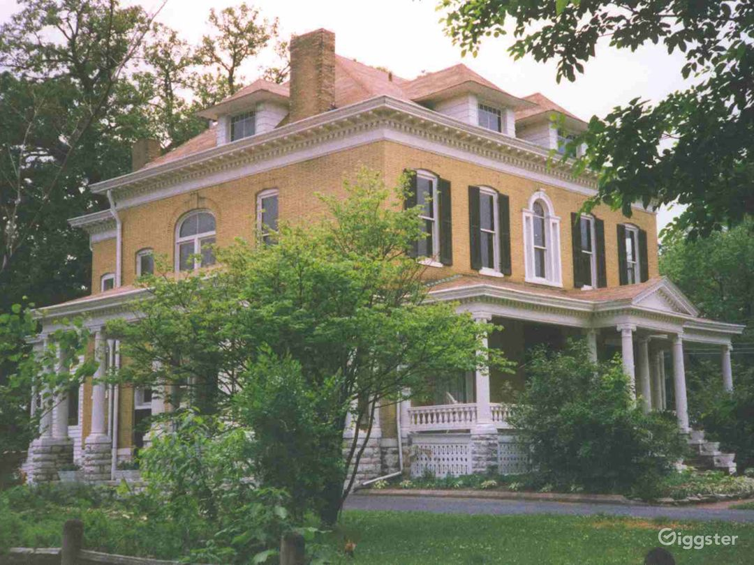 Welcome to the mansion built as a wedding gift - the iconic BEALL MANSION.