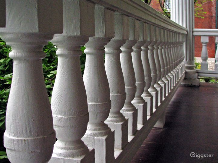 Front verandah balustrades are just one of the myriad of classic architectural features