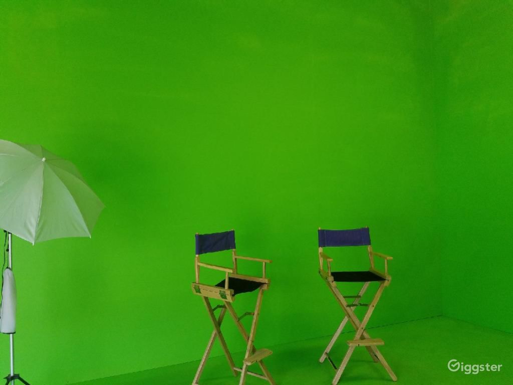 The Studio Photography Tv Stage Green
