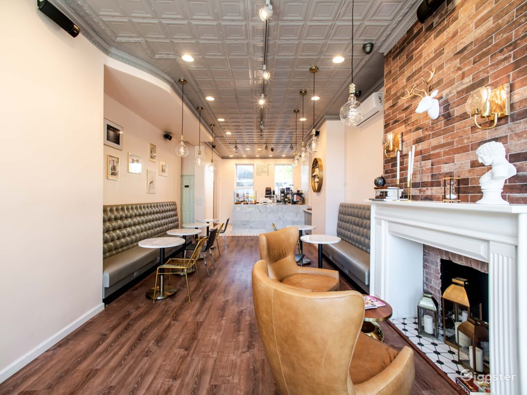 Bright,Spacious, Cozy Cafe with Patio to Celebrate Photo 1