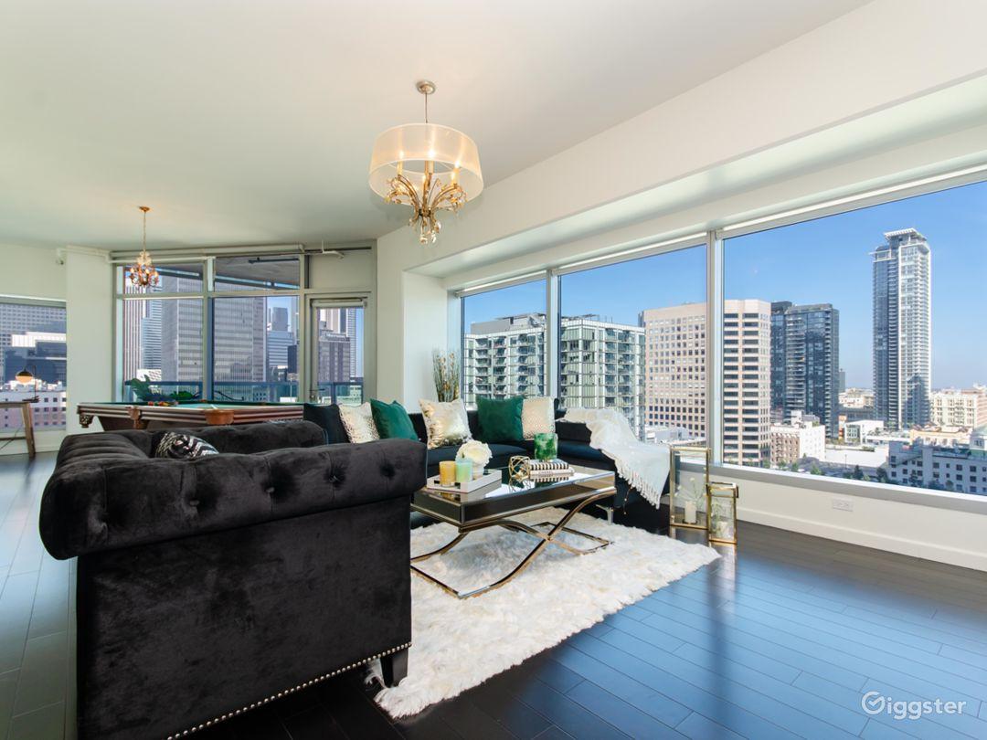 Urban Downtown LA Fashion Penthouse Photo 3