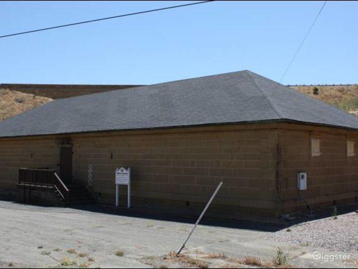 The Powder Magazine Building in the Museum in Benicia, California Photo 2