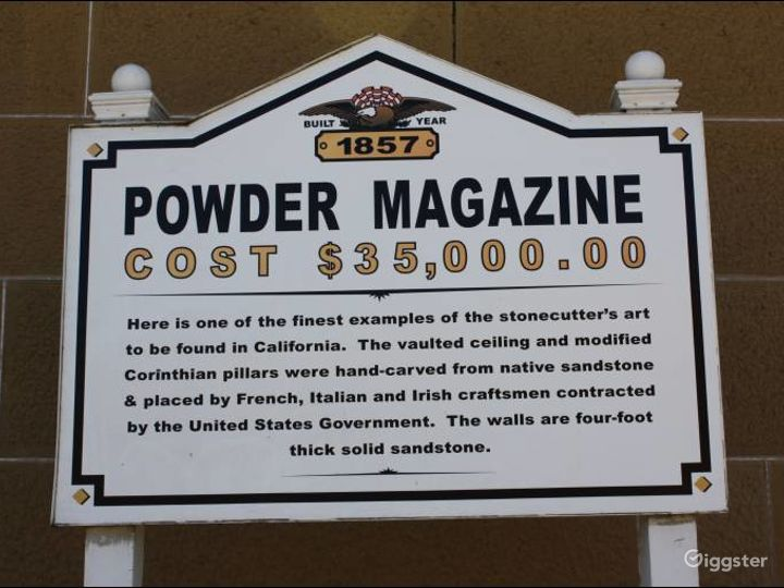 The Powder Magazine Building in the Museum in Benicia, California Photo 5