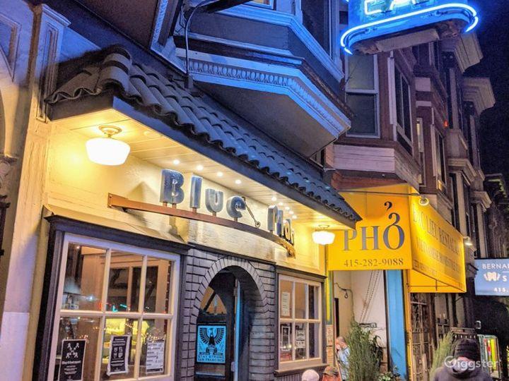 Cozy and Romantic Restaurant in San Francisco