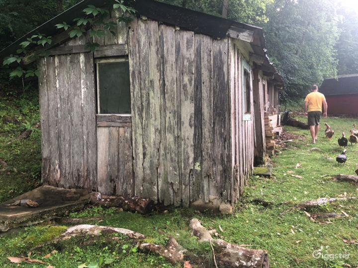 Moonshine shed