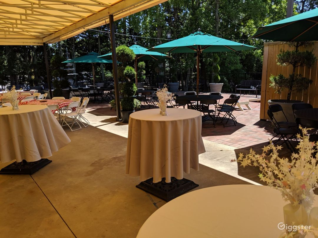 Outdoor Patio Space in Charlotte Photo 1