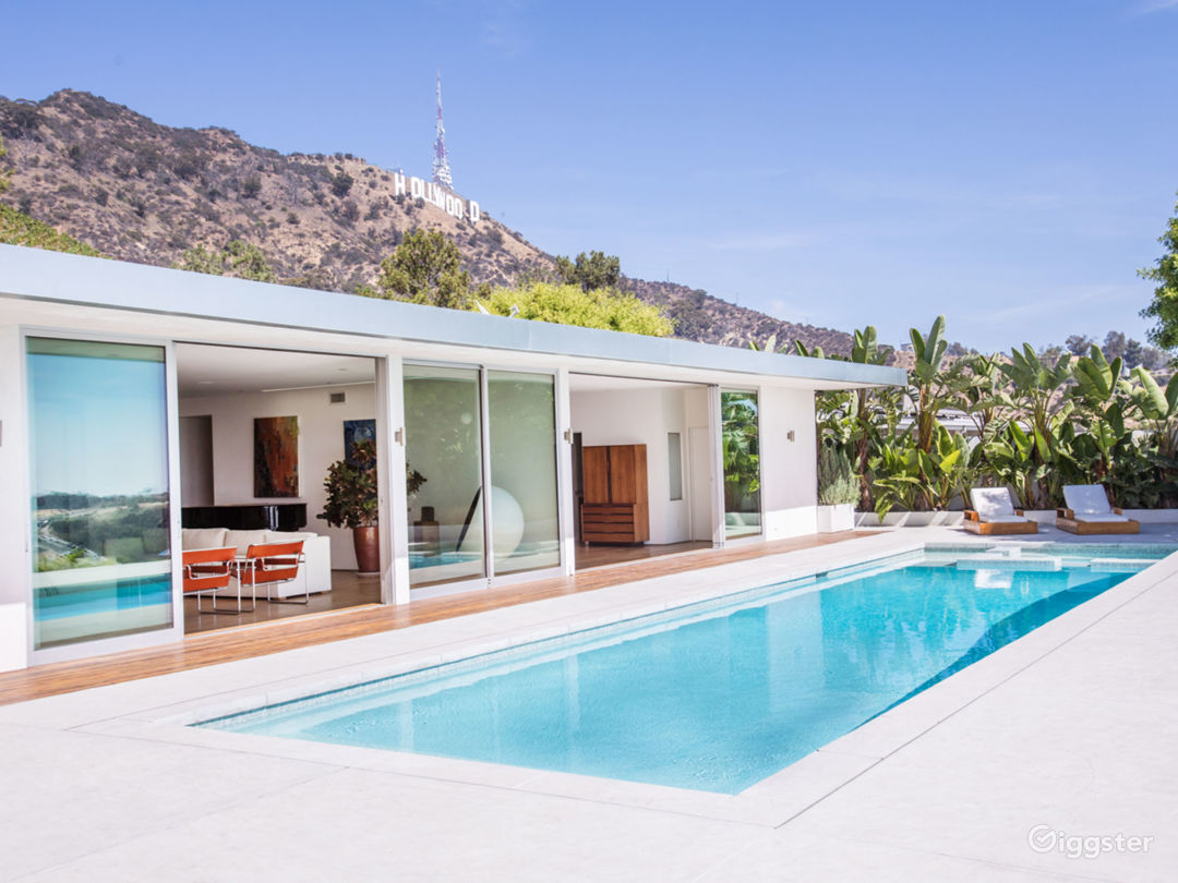 Mid Century House located in the Hollywood Hills  Photo 1