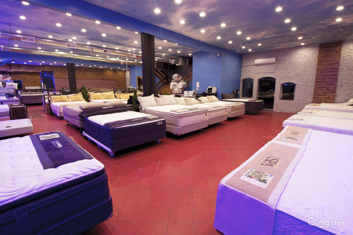 The Retail Small Business Commercial Mattress In Koreatown Ca Showroom