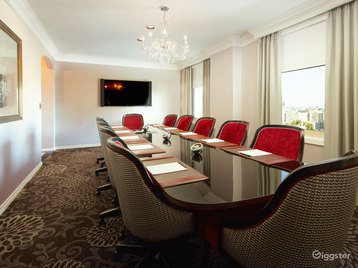 Private Boardroom with Breathtaking Views