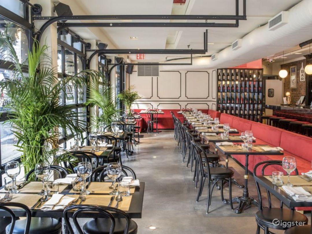 Modern High End Italian Restaurant in NY Photo 1
