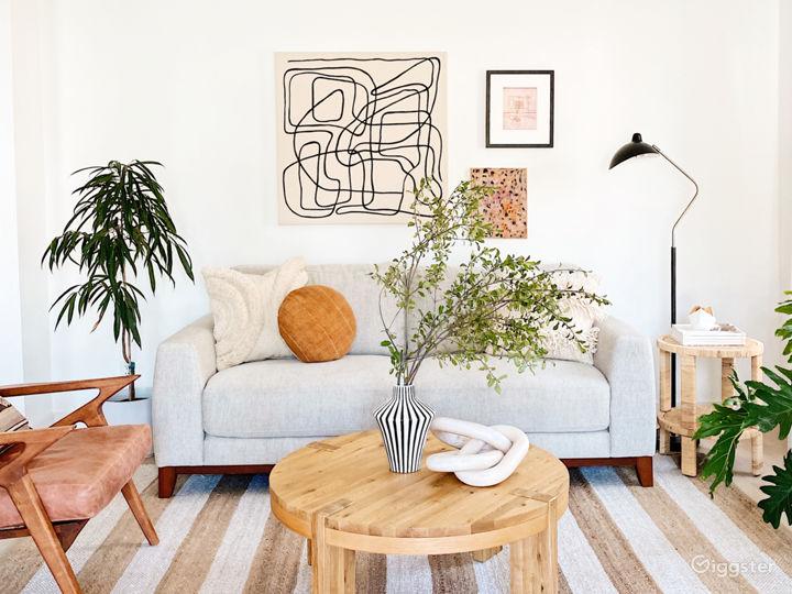 Living room alternate artwork