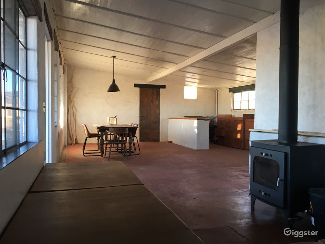 the small off grid house - about 650 sq ft