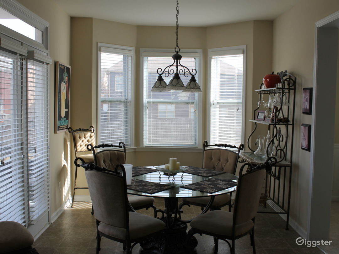 Eat in kitchen with bay window