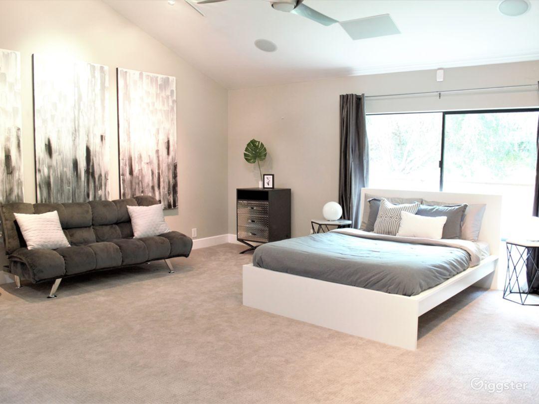 Bedroom 1 with loft