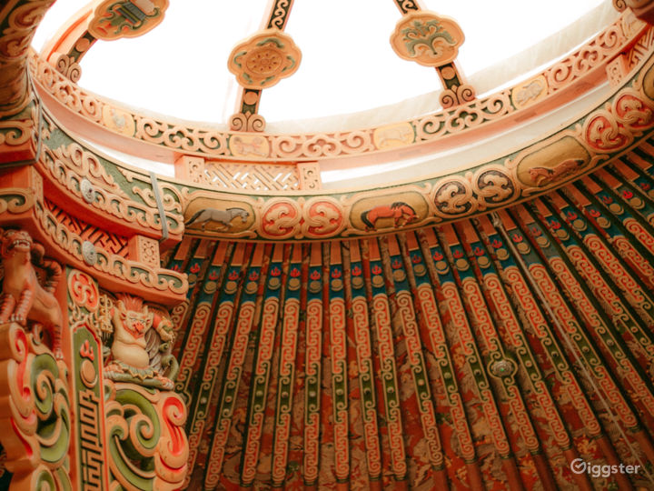 Mongolia Hand Carved Yurt - Top Of Topanga   Photo 5