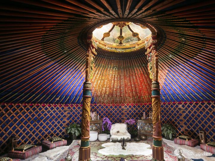 Mongolia Hand Carved Yurt - Top Of Topanga   Photo 4
