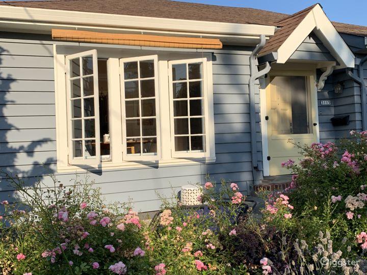 Casement windows in front