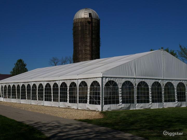 Exterior of Garden Tent