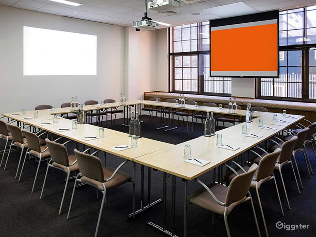 Bright and Airy Earth Meeting Room in London Photo 1