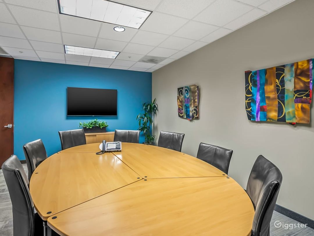 Fully Equipped Board Room in Charlotte Photo 1