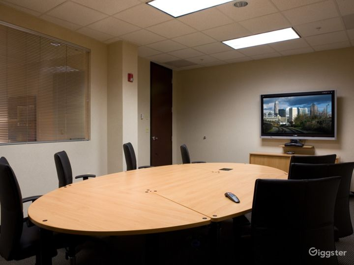 Fully Equipped Board Room in Charlotte Photo 2