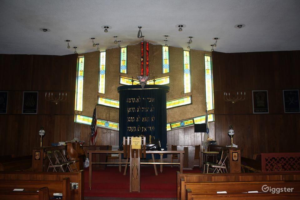 Van Cortlandt Jewish Center Sanctuary