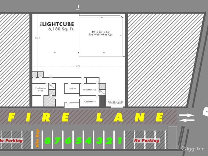 N. Hollywood Studio Amazing TopBox Light Cyc Photo 3