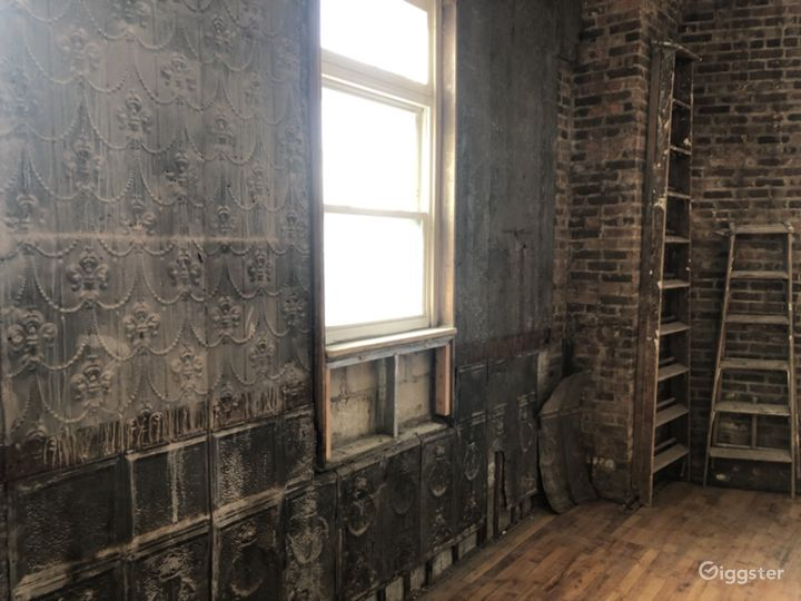 Rustic Brick and Timber Loft with Embossed Tin Photo 5