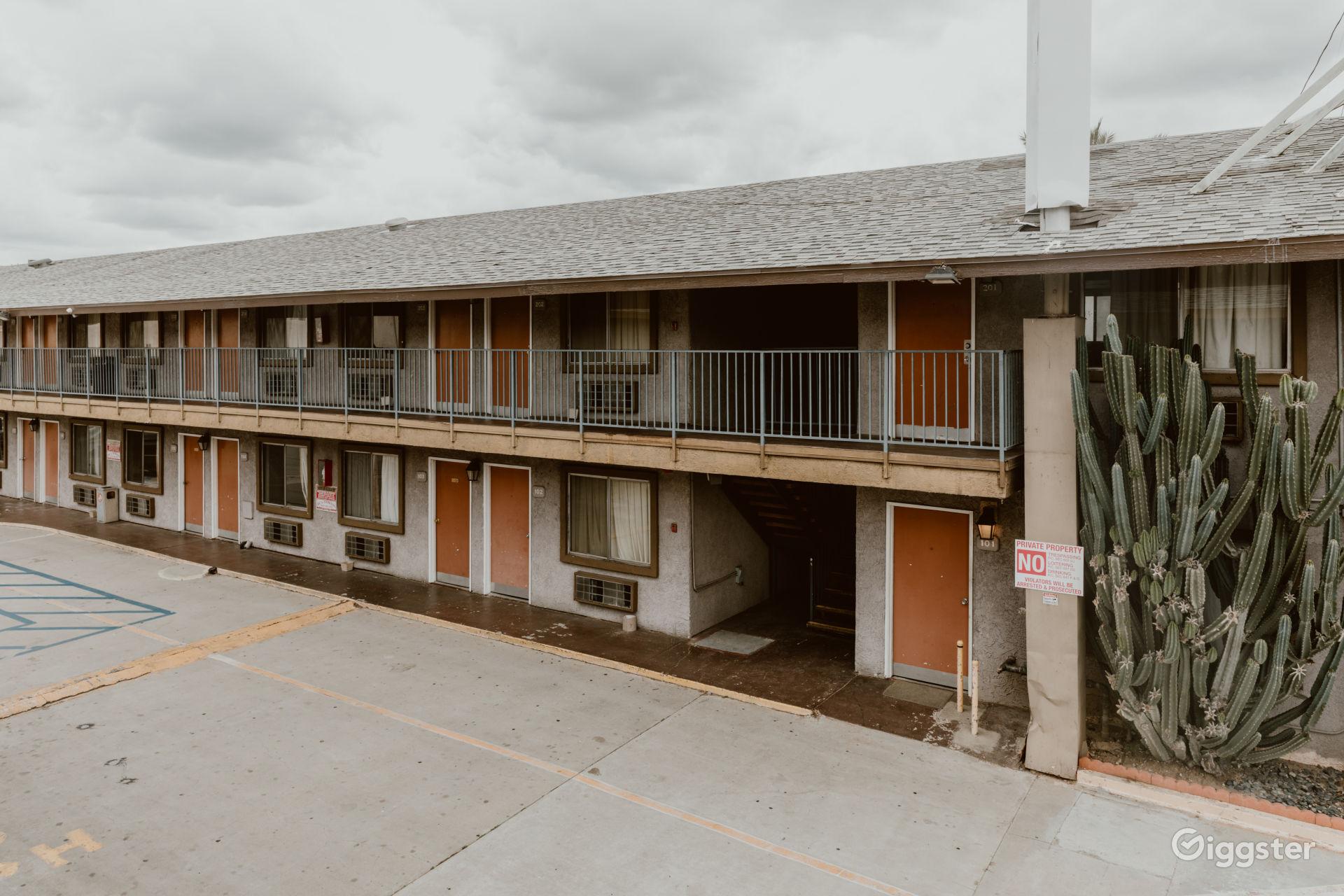The Seedy Motel near San Fernando Los Angeles Rental